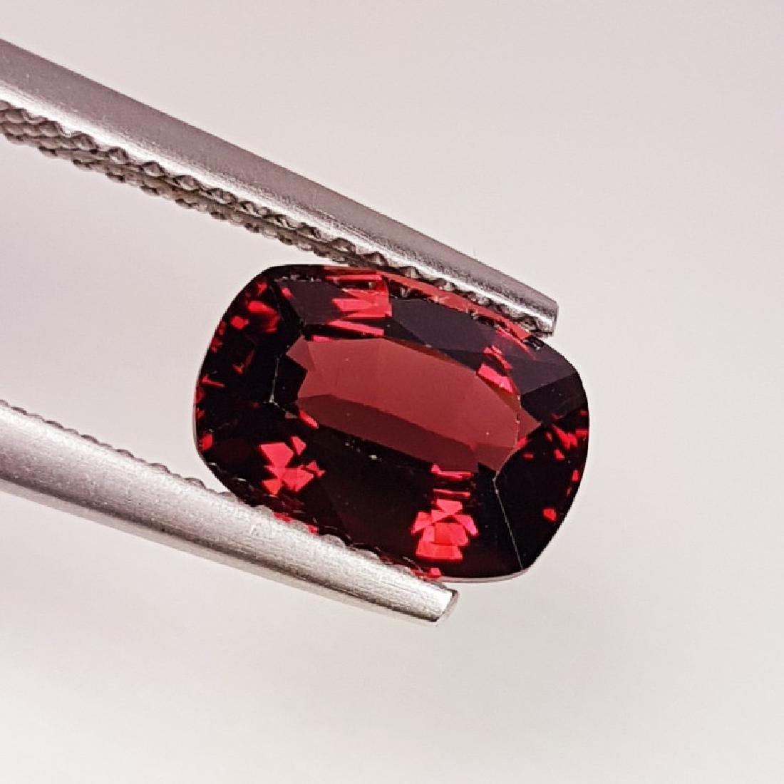 IGI CERTIFIED Natural Pyrope - Almandite Red Garnet -