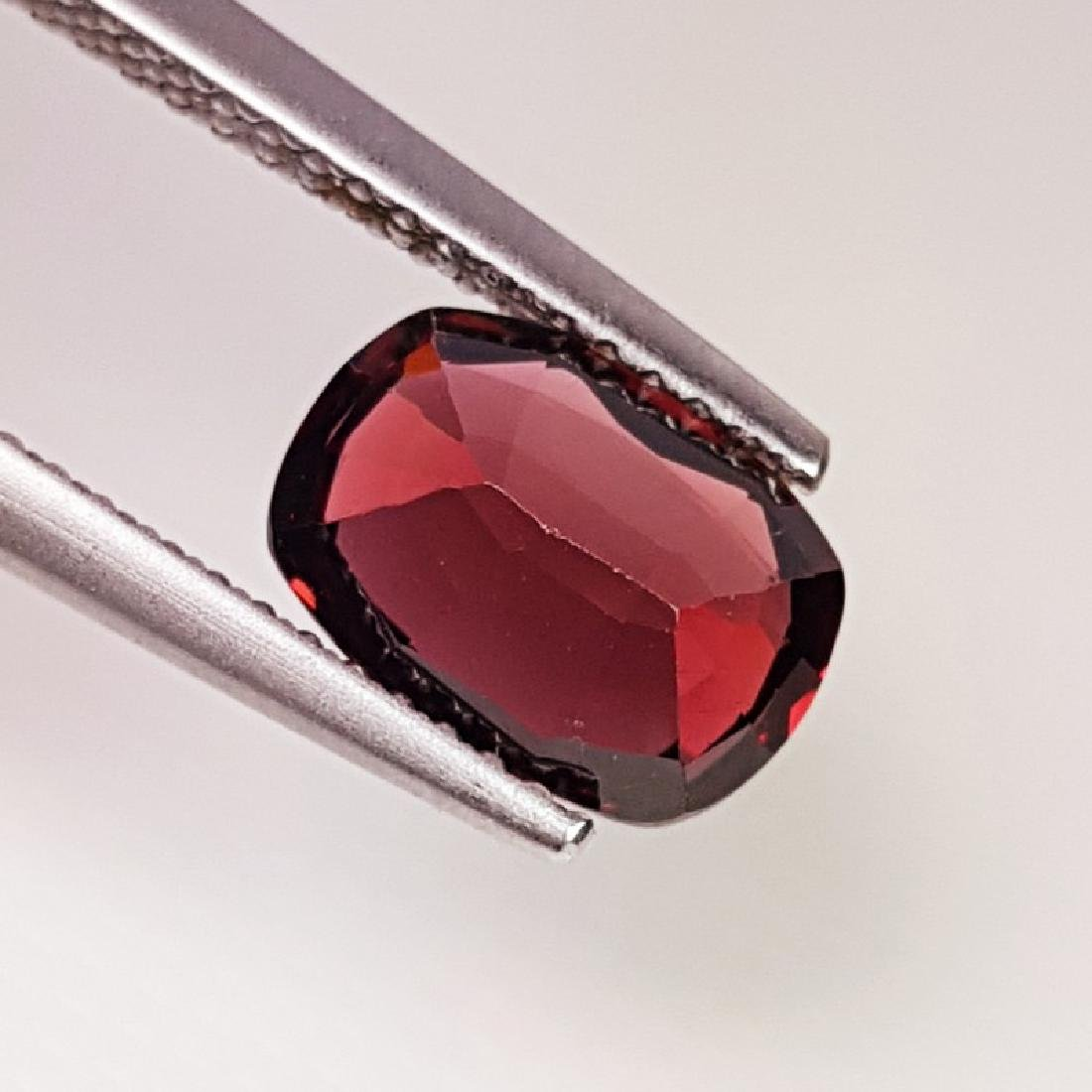 IGI CERTIFIED Natural Pyrope - Almandite Red Garnet - - 4