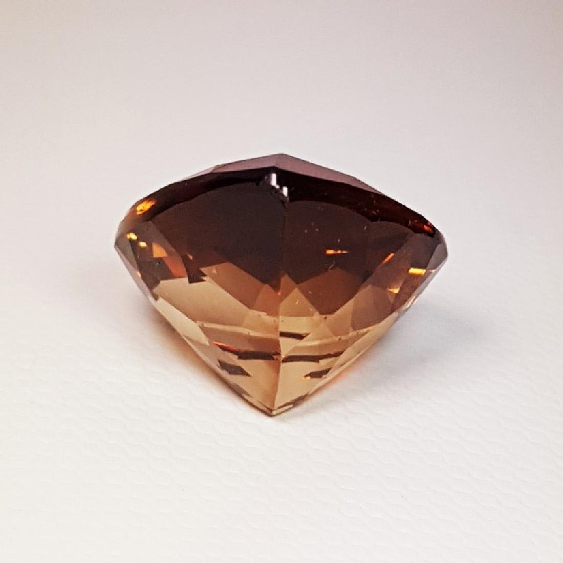 IGI CERTIFIED Natural Champagne Topaz - 21.59 ct - 3