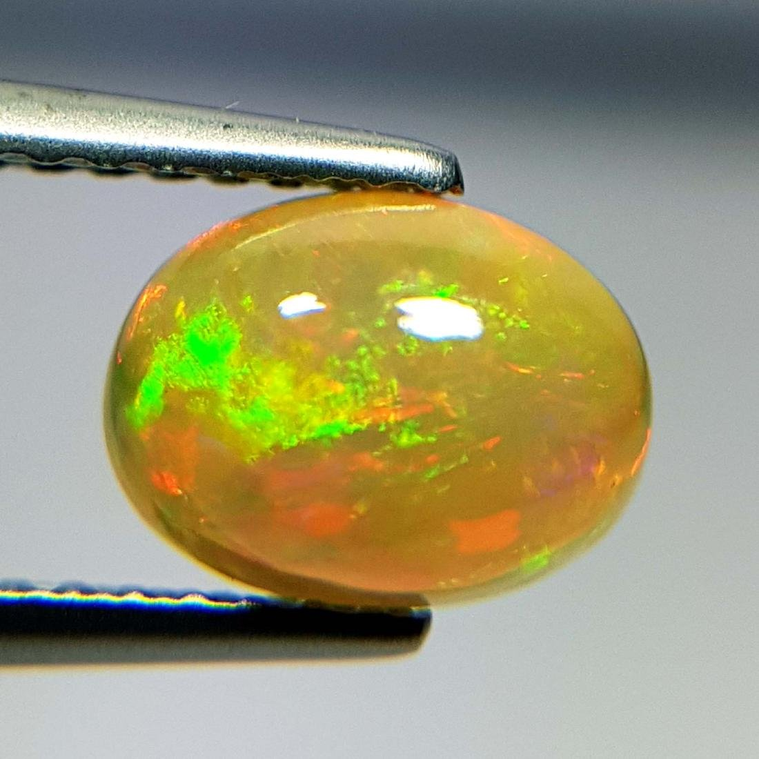 Top Luster Oval Cabochon Natural Opal  - 1.09 ct