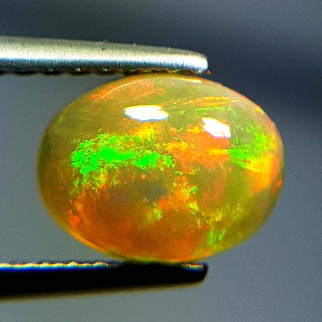 Top Luster Oval Cabochon Natural Opal  - 1.09 ct - 6