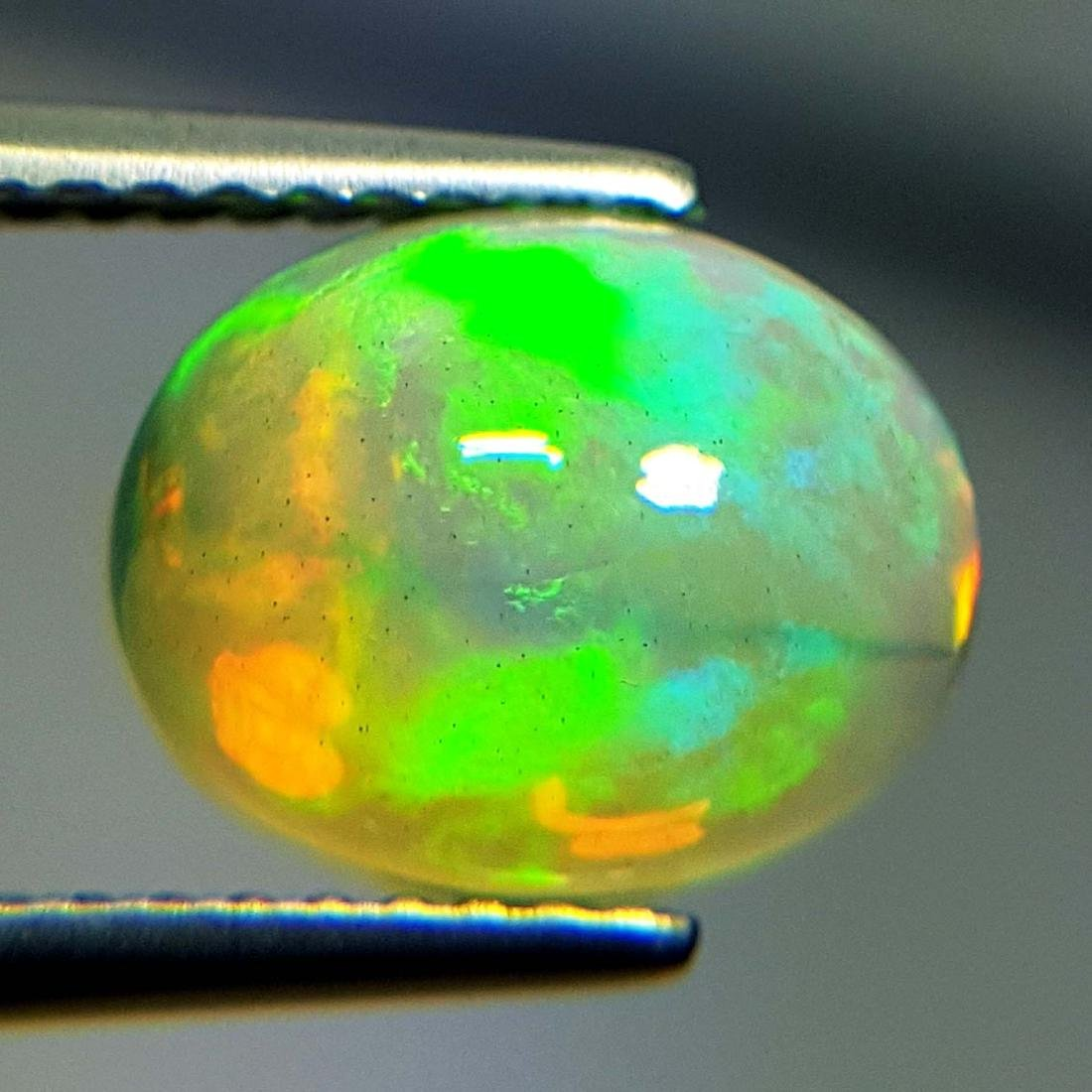 Awesome Fire Oval Cabochon Natural Opal  - 1.85 ct - 2