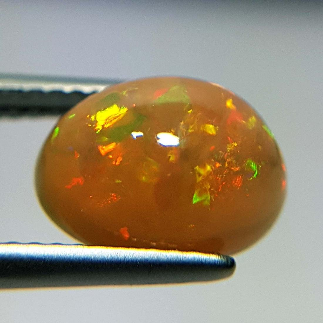 Galaxy  Fire Oval Cabochon Natural Opal  - 2.43 ct