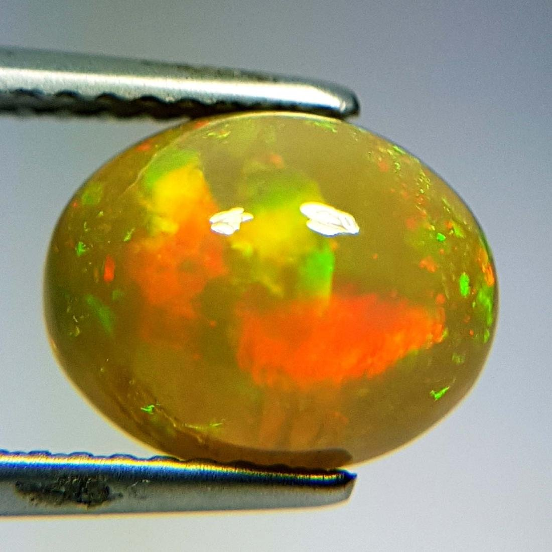 Awesome Fire Oval Cabochon Natural Opal  - 2.16 ct - 10