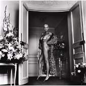 HELMUT NEWTON  Brigitte Nielsen