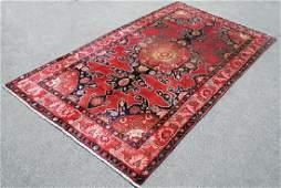 Handmade Persian Kermanshah Rug 5.1x9.2