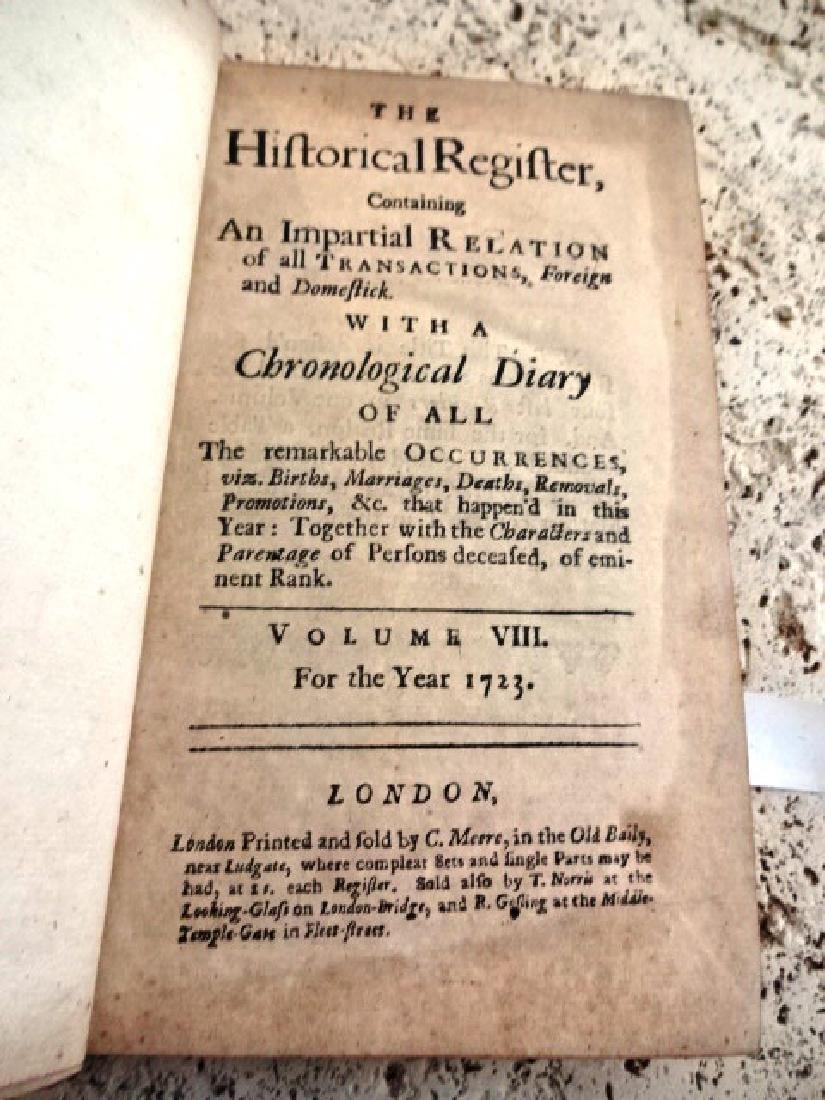 1723 Historical Register South Carolina Cherokee