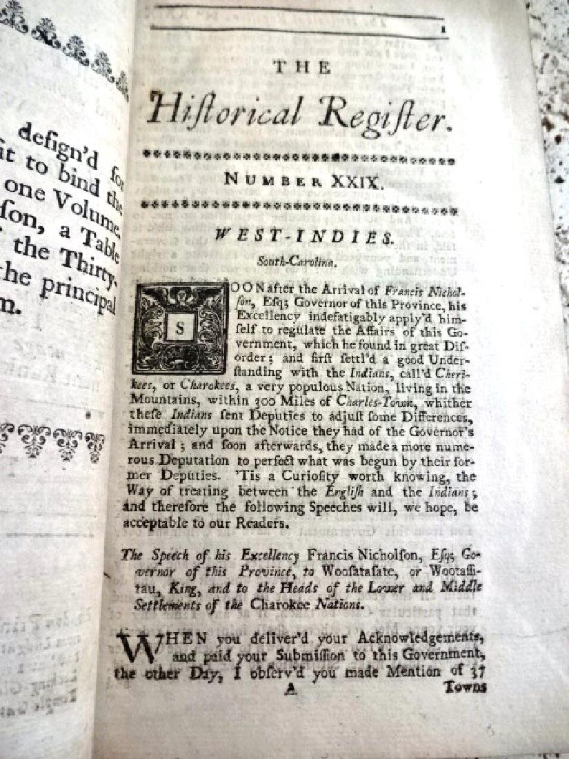 1723 Historical Register South Carolina Cherokee - 2