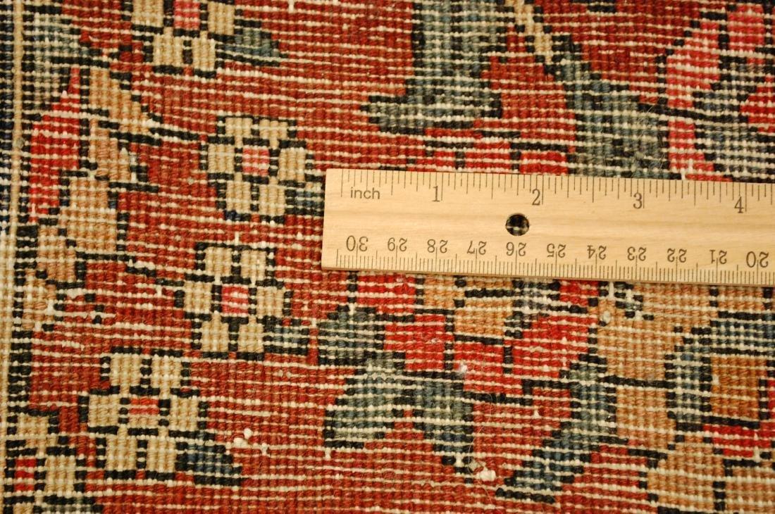 Persian Bijar Rug 4.6x7.3 Animal human Subjects - 9