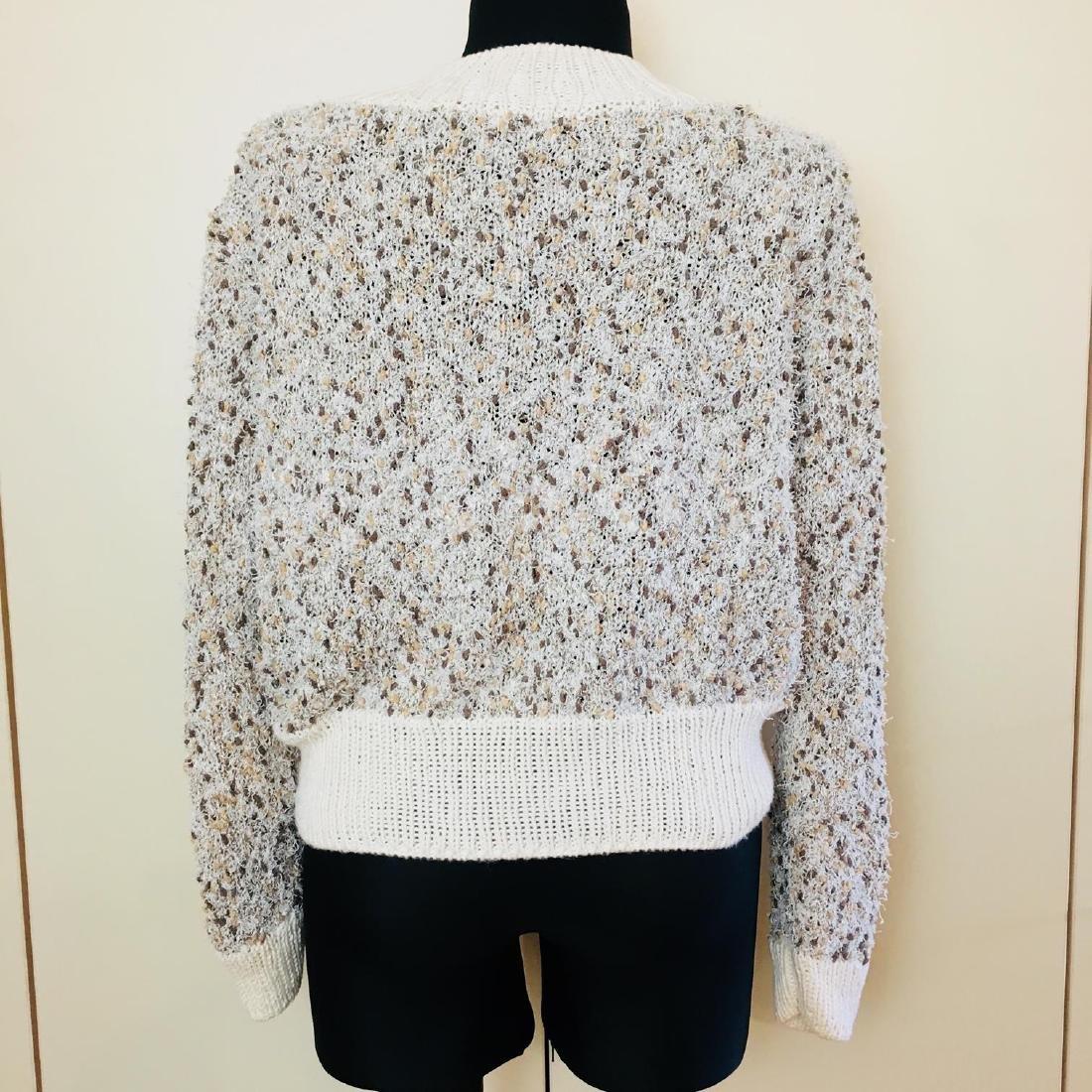 Vintage Women's Fluffy Sweater Jumper Size US 14 - 5