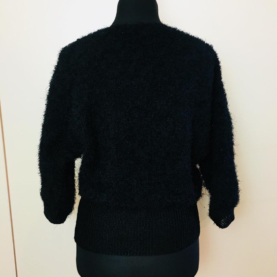 Vintage Women's Fluffy Sweater Jumper Size US 10 - 5