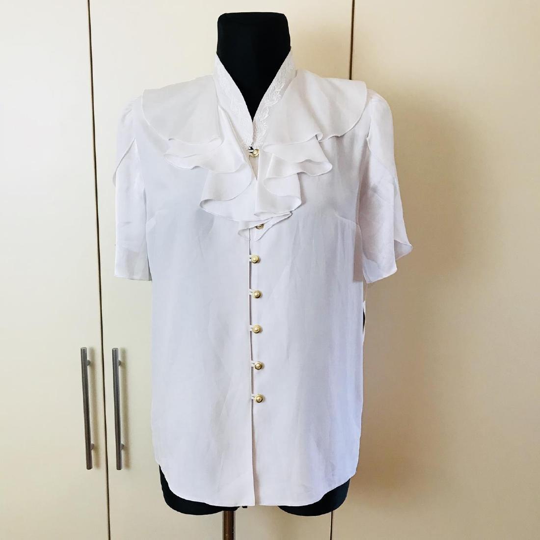 1960s Vintage Women's Blouse Shirt Top