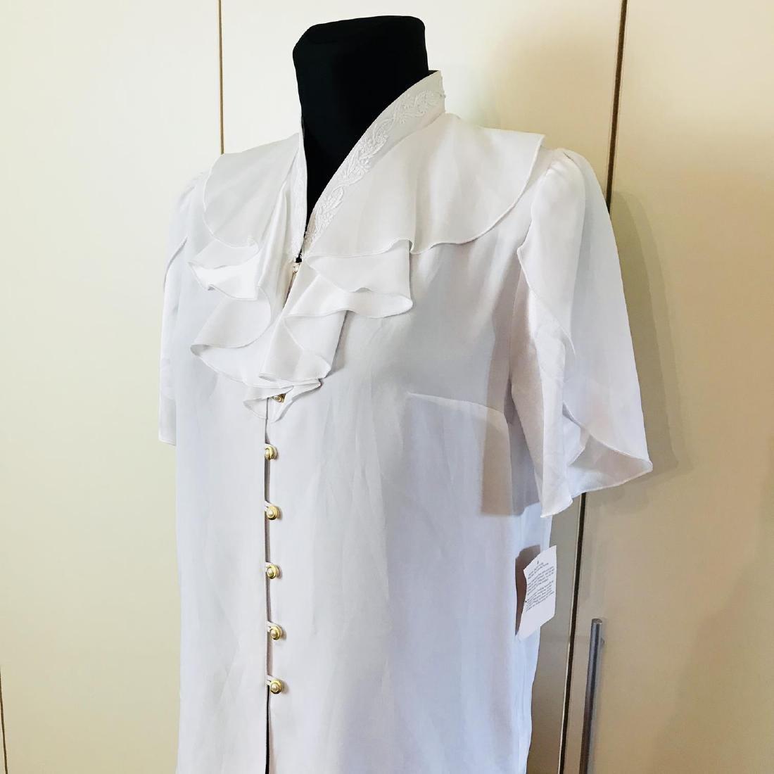 1960s Vintage Women's Blouse Shirt Top - 2