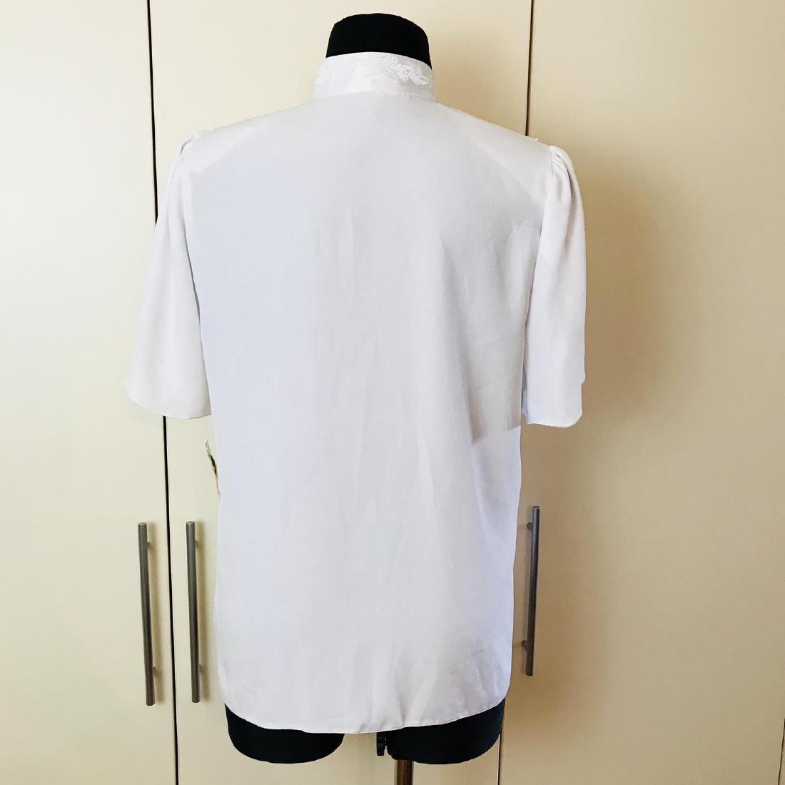 1960s Vintage Women's Blouse Shirt Top - 5