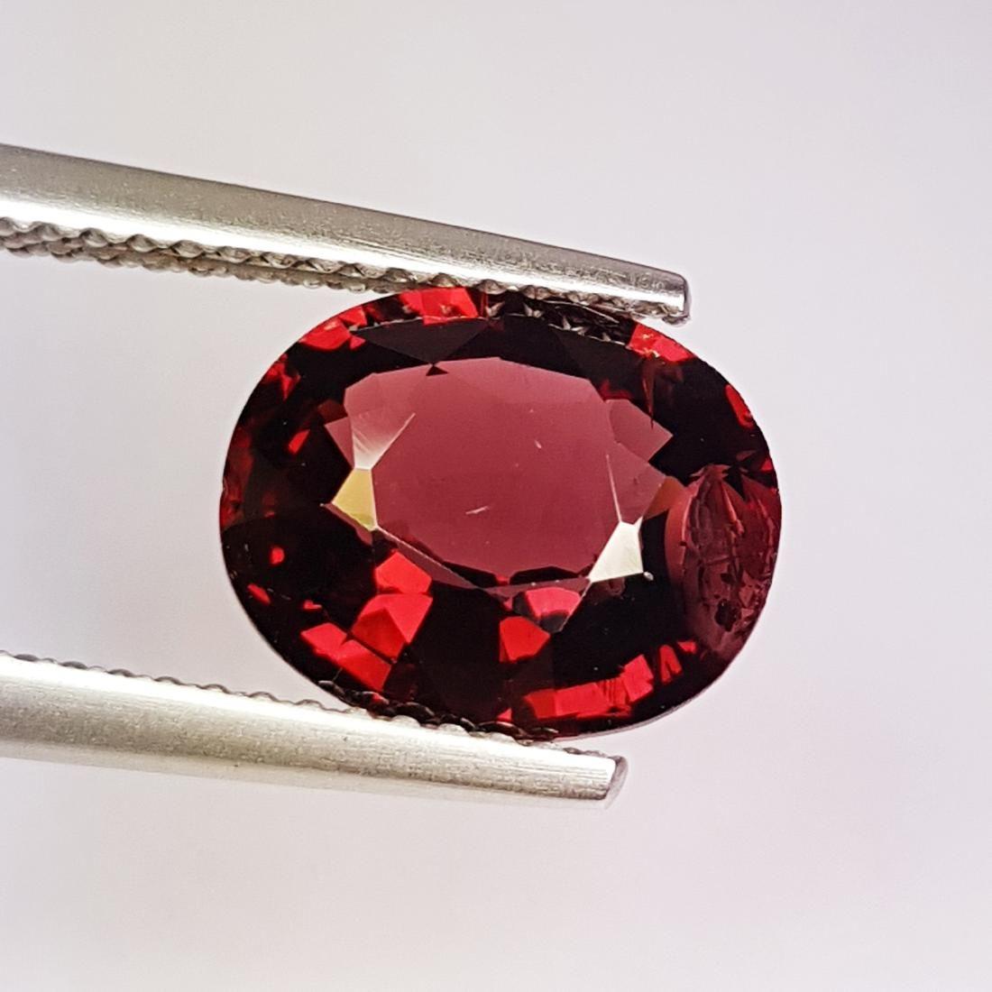 Beautiful Natural Rhodolite Garnet - 3.21 ct