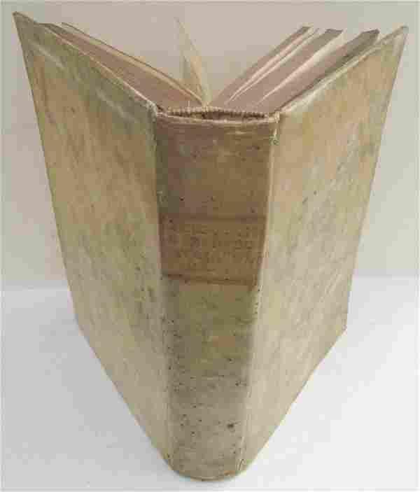 1768 VELLUM BOUND ANTIQUE FOLIO F. LUCII FERRARIS