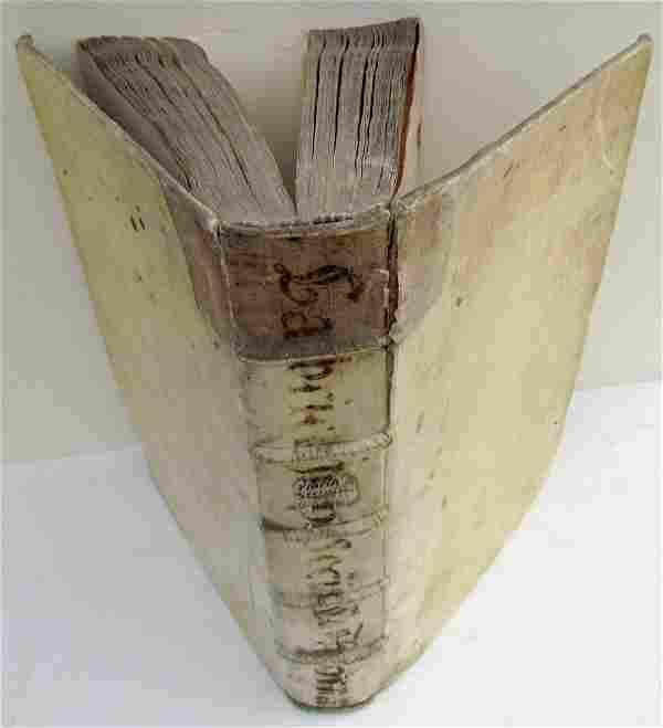 1665 VELLUM BOUND ANTIQUE FOLIO by R.P.F. GABRIELIS