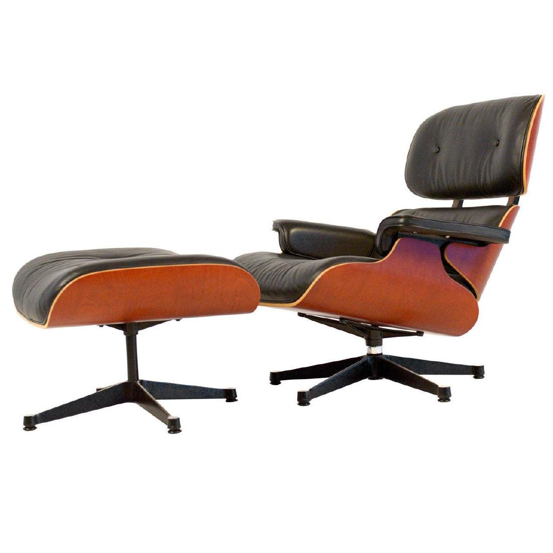 Charles Eames Lounge Chair & ottoman in Excellent
