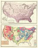 Climatological Map of the United States (and)