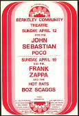 Scarce Frank Zappa Poster