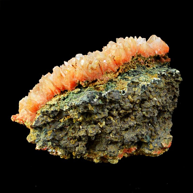 Carnelian Cluster Druzy Rock Stone - 2