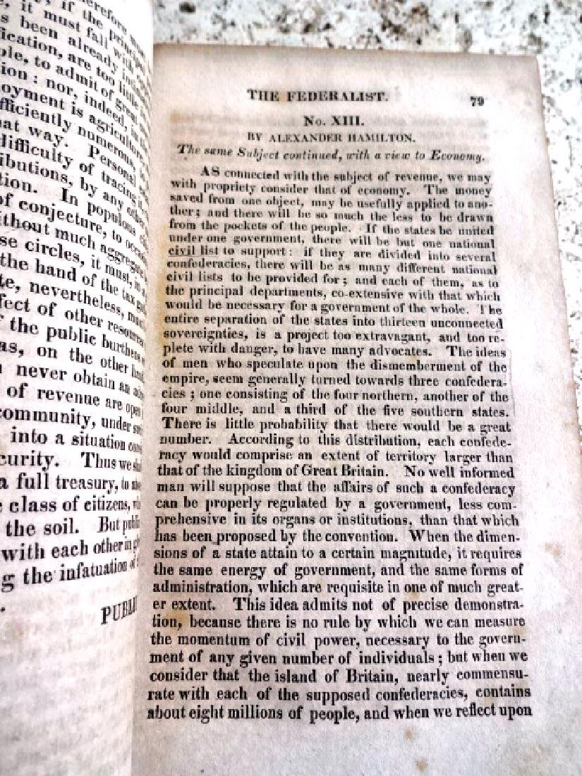 1818 The Federalist on the New Constitution - 3