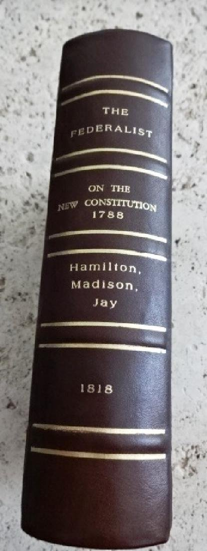1818 The Federalist on the New Constitution - 6