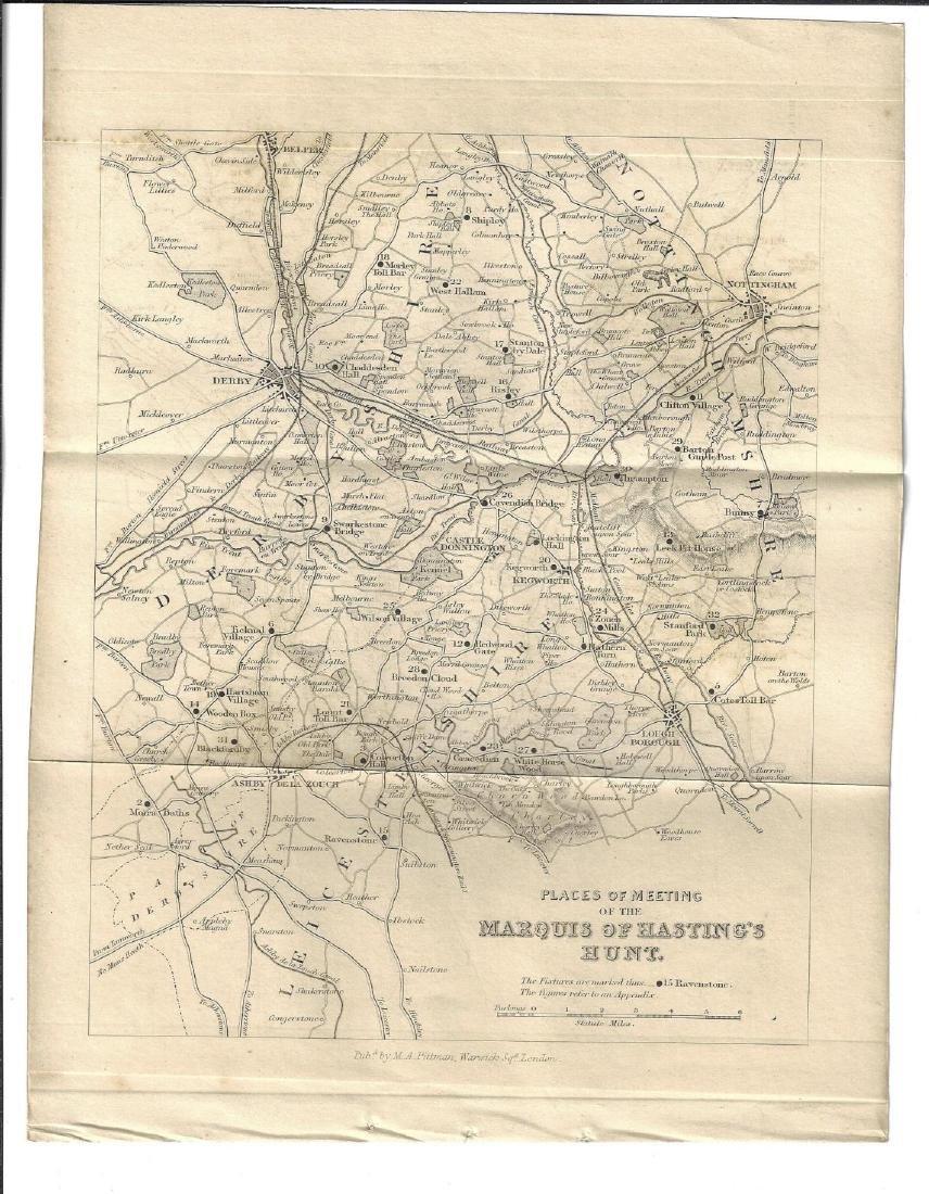 19th C English Hunting Maps