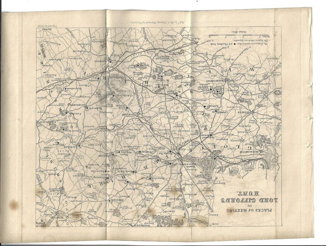 19th C English Hunting Maps - 2