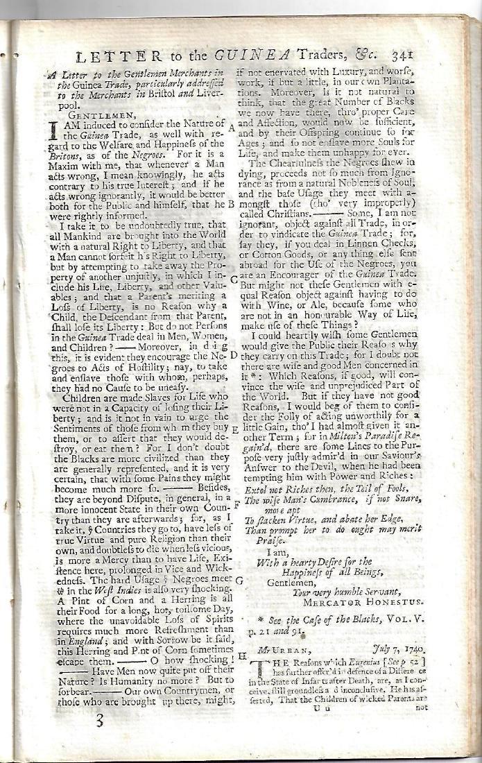 1740 Magazine w/ Plan of Castle at San Lorenzo - 3