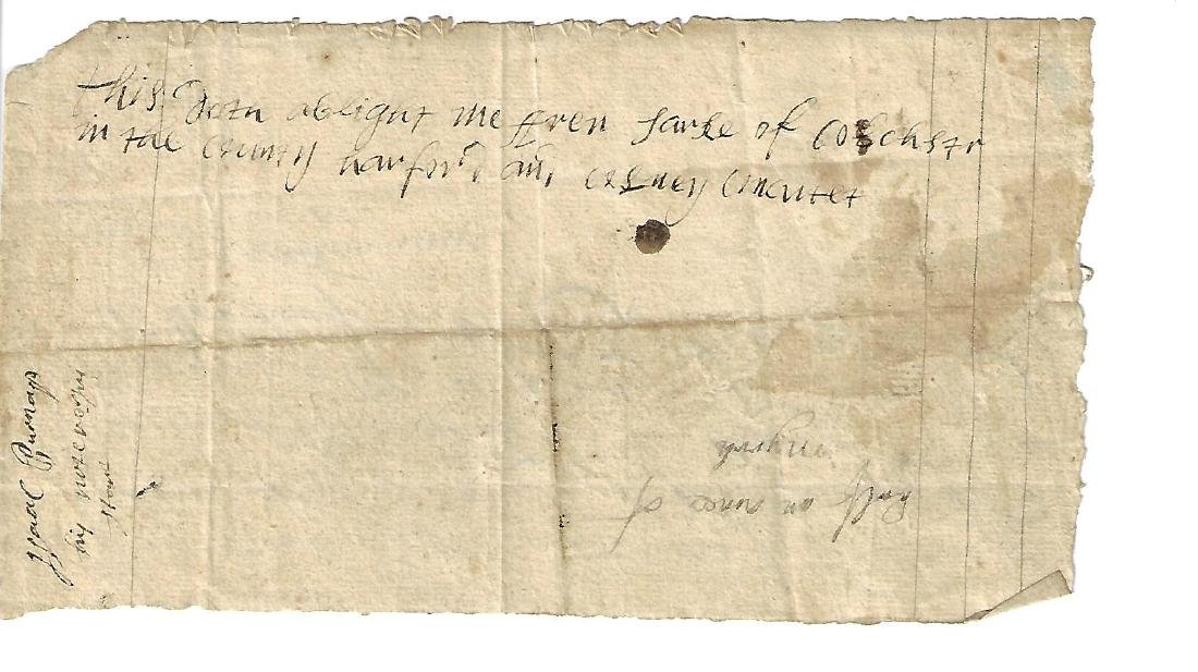 1726 Colonial Promissory Note w/ Another - 2