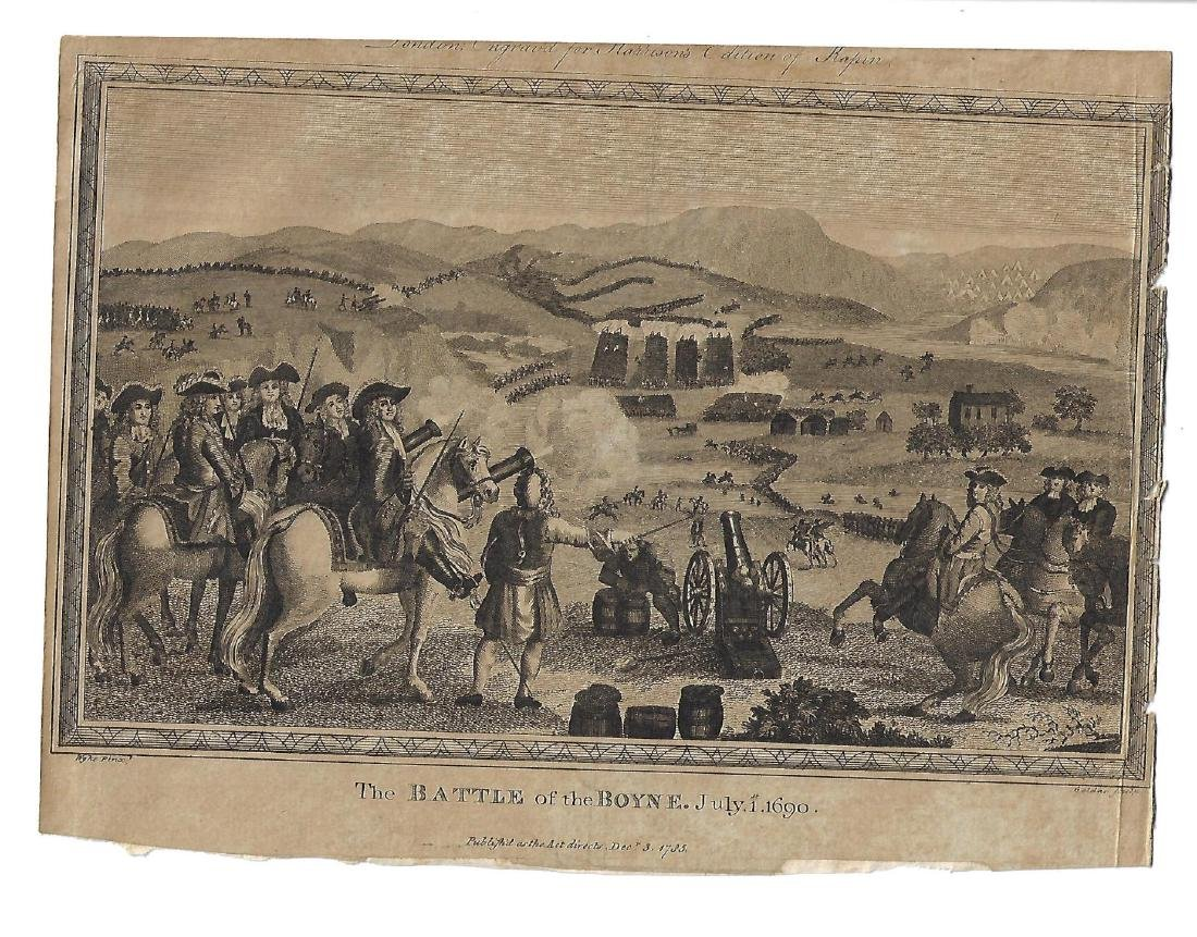 1783 Engraving of Battle of the Boyne