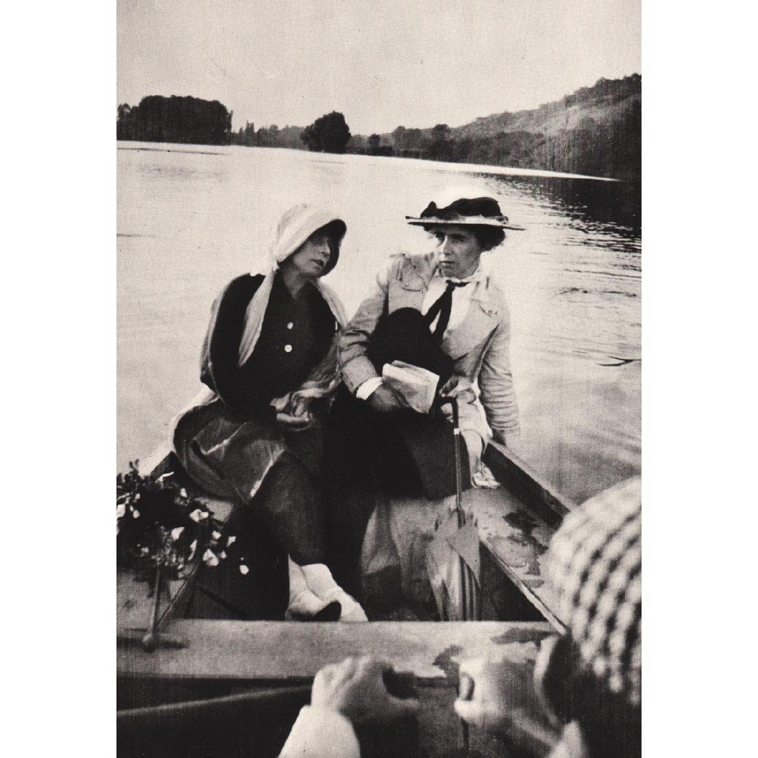 PIERRE BONNARD - Marthe with Ida Godebski