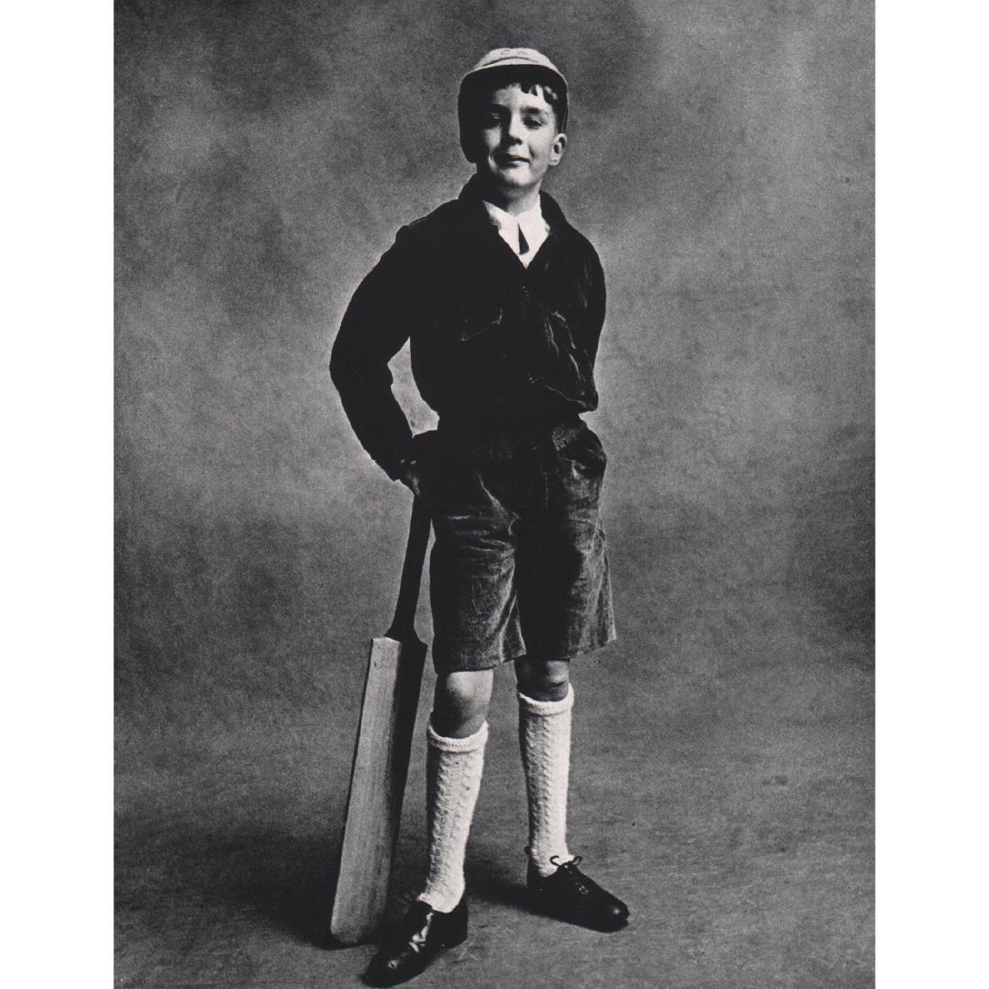 IRVING PENN - Cricket Player