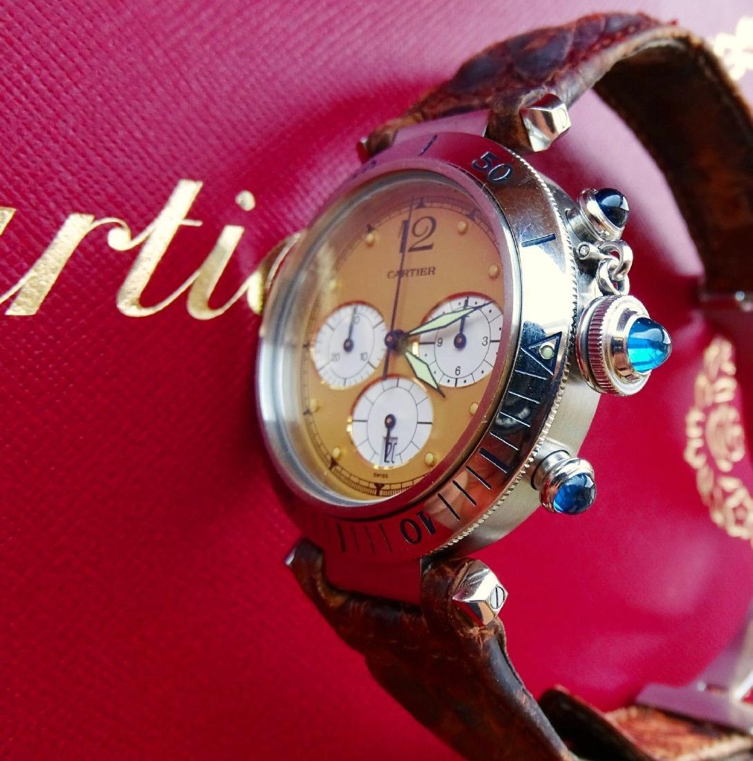 Cartier Pasha 38mm Eleganter Hochfeiner Luxus Herren - 5