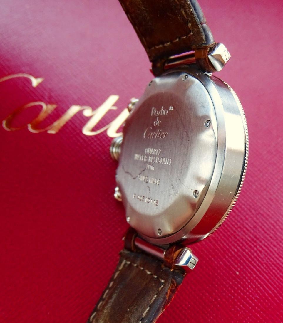 Cartier Pasha 38mm Eleganter Hochfeiner Luxus Herren - 9