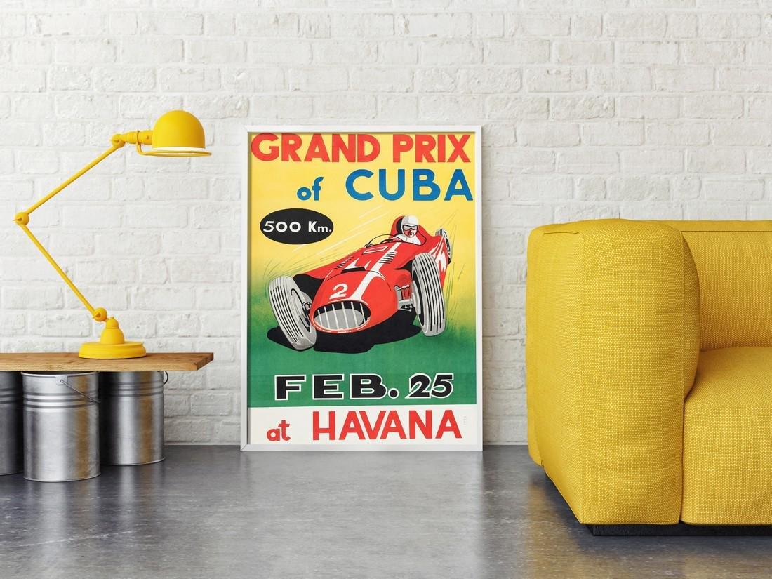 Poster Of Cuban Formula One GP - 2