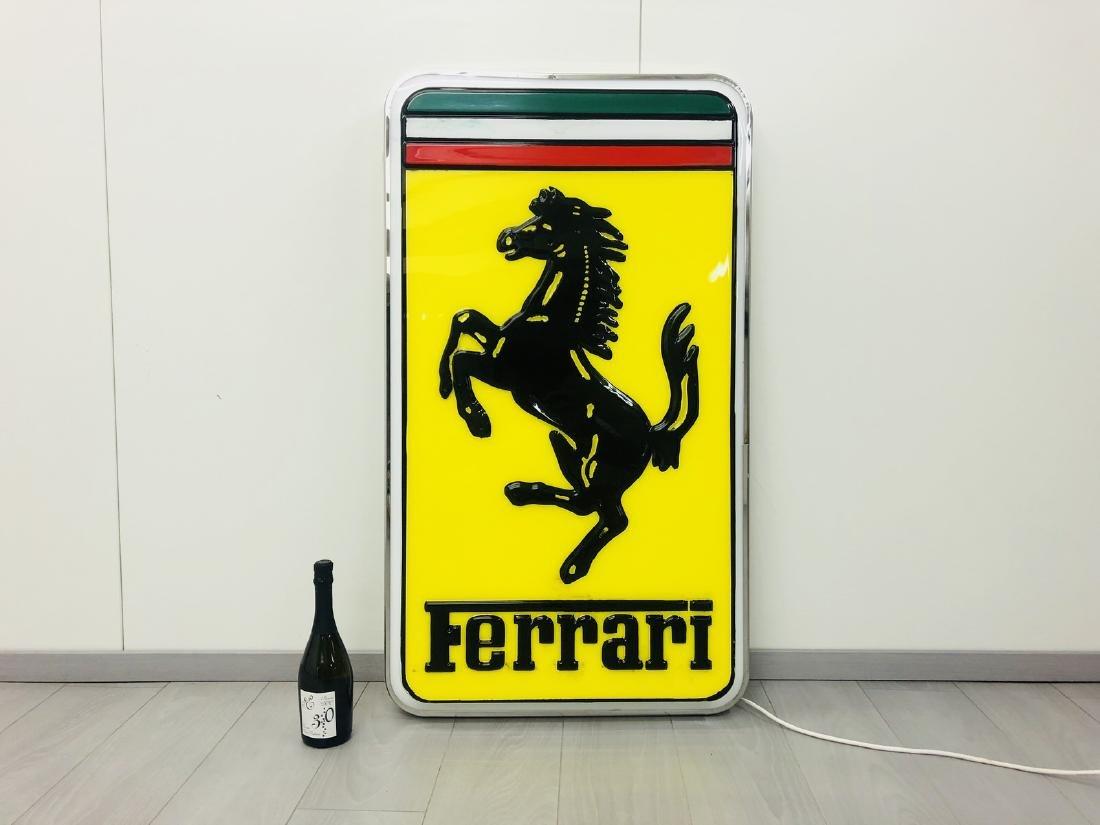 Ferrari Original Dealer Sign - 10