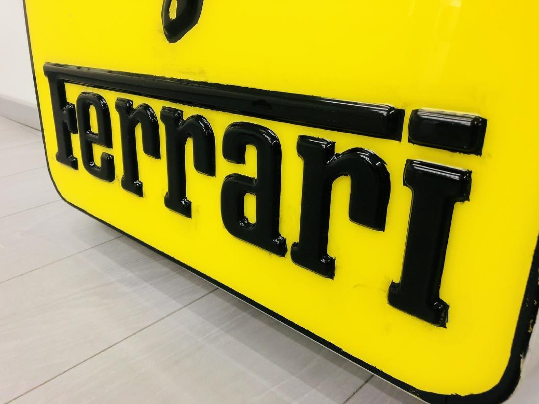 Ferrari Original Dealer Sign - 3