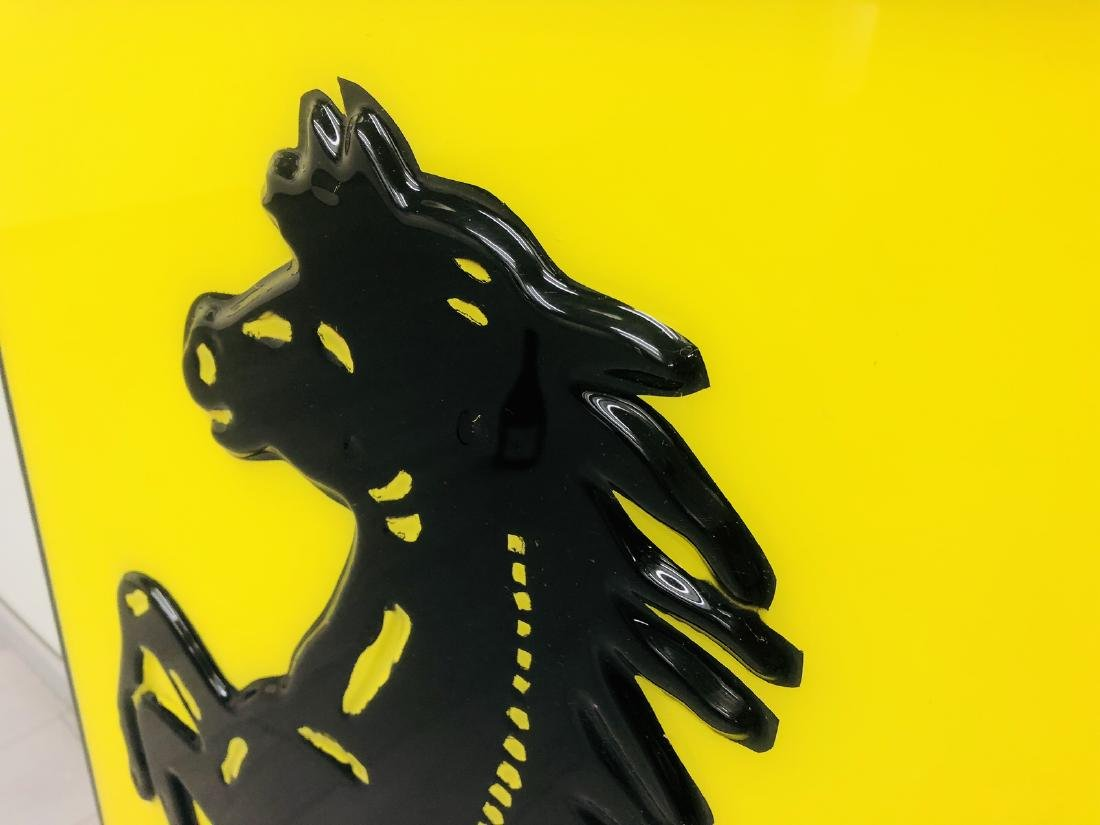 Ferrari Original Dealer Sign - 5