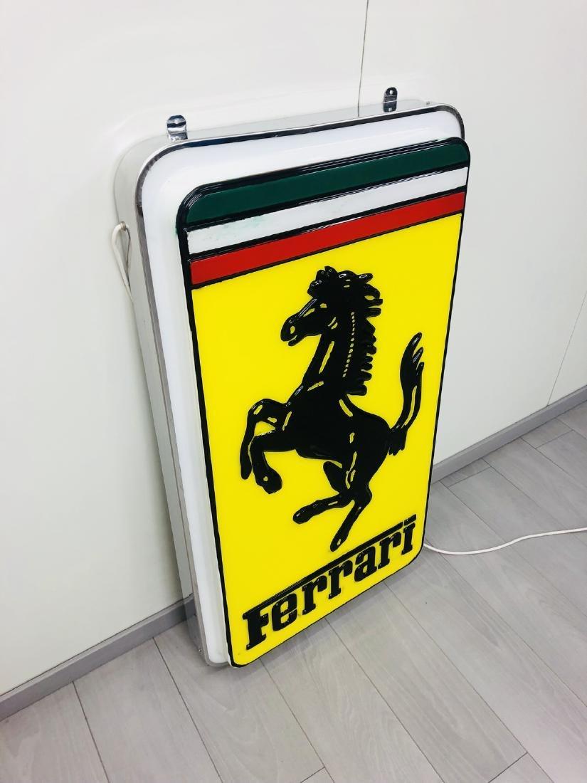 Ferrari Original Dealer Sign - 6