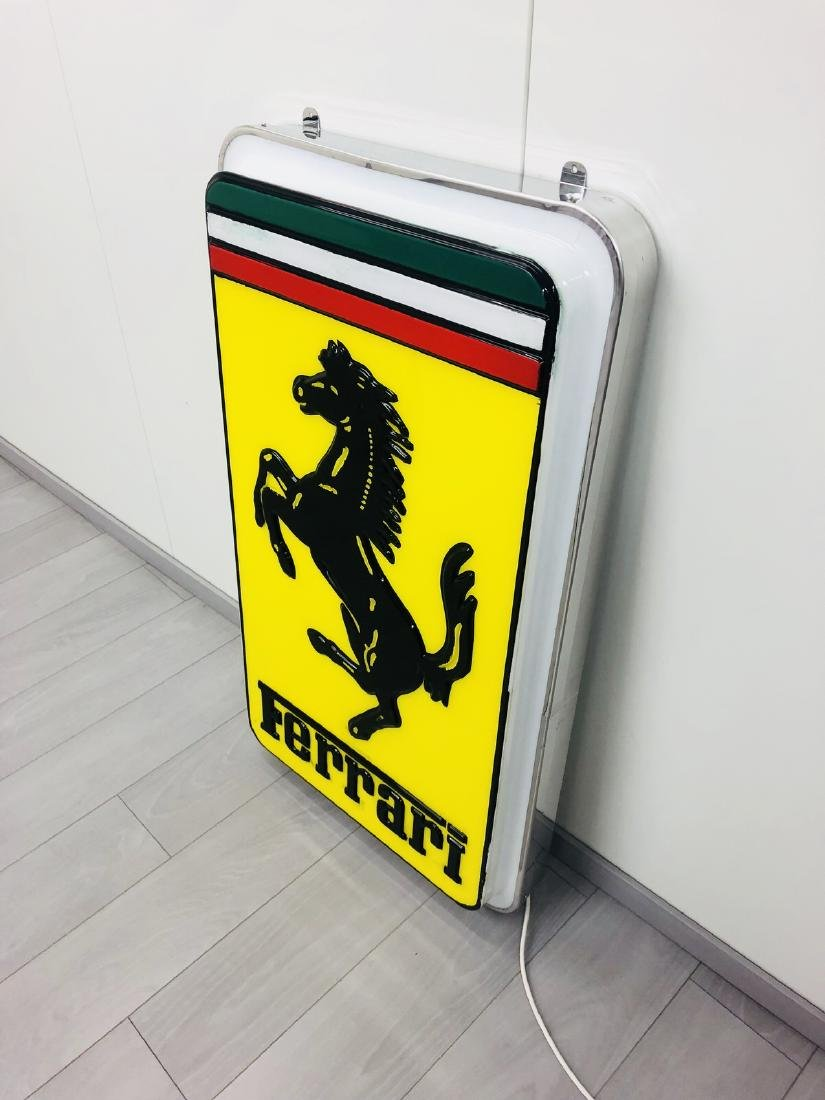 Ferrari Original Dealer Sign - 7