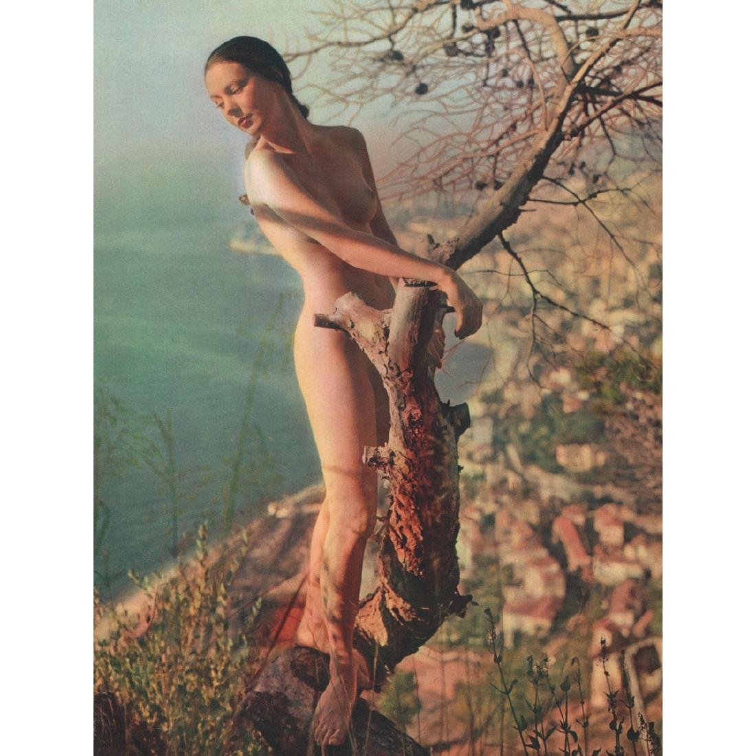 ZOLTAN GLASS - Nude on the Hill
