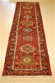 Persian Heriz Serapi Runner Rug 2.6x9.2 Long Narrow