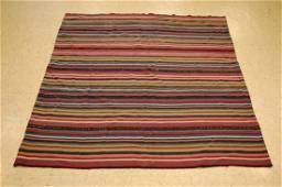 Woven High Kpsi Persian Jajim Kilim Rug 4.9x5.4 Vegy