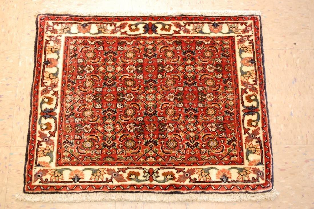 Kpsi Kork Wool Persian Bijar Rug 1.10x2.4 Village Woven