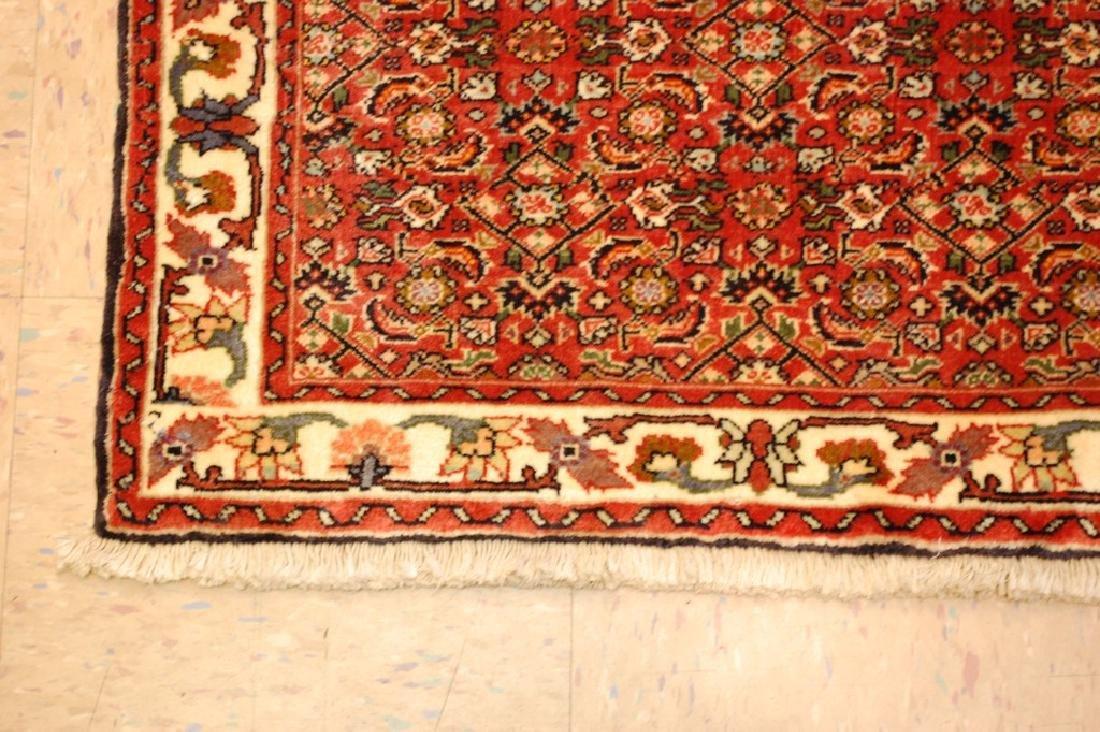 Kpsi Kork Wool Persian Bijar Rug 1.10x2.4 Village Woven - 2