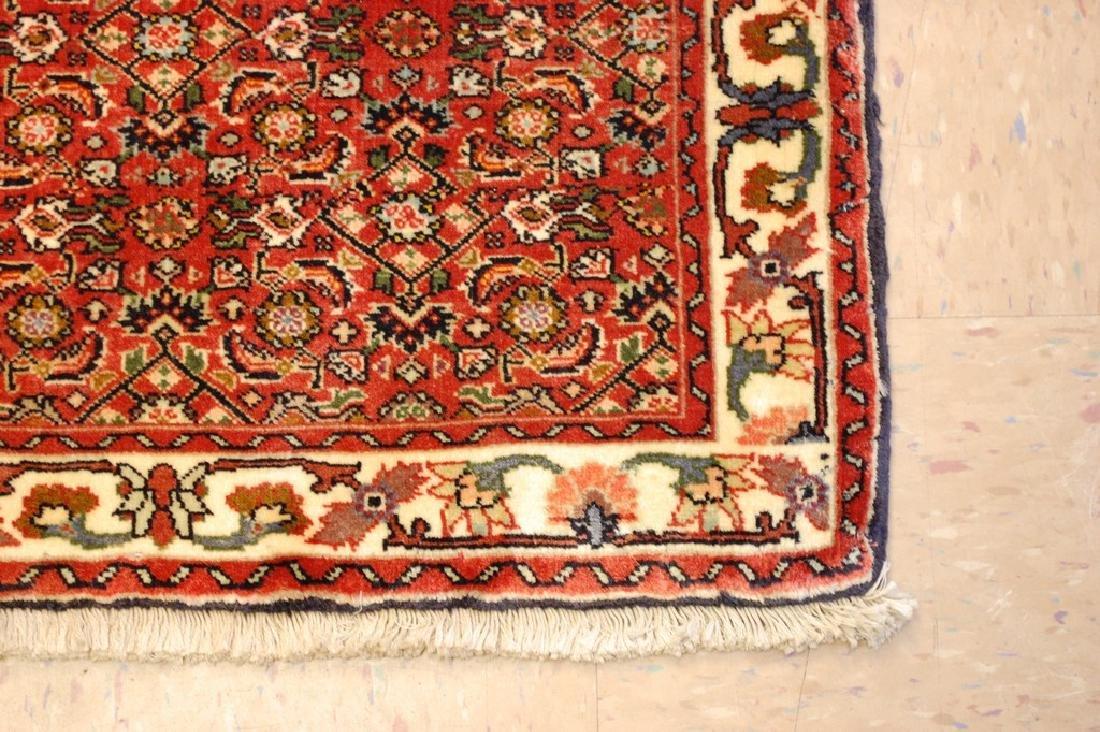 Kpsi Kork Wool Persian Bijar Rug 1.10x2.4 Village Woven - 3
