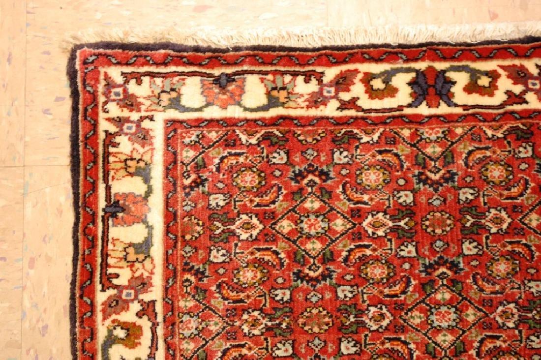 Kpsi Kork Wool Persian Bijar Rug 1.10x2.4 Village Woven - 4