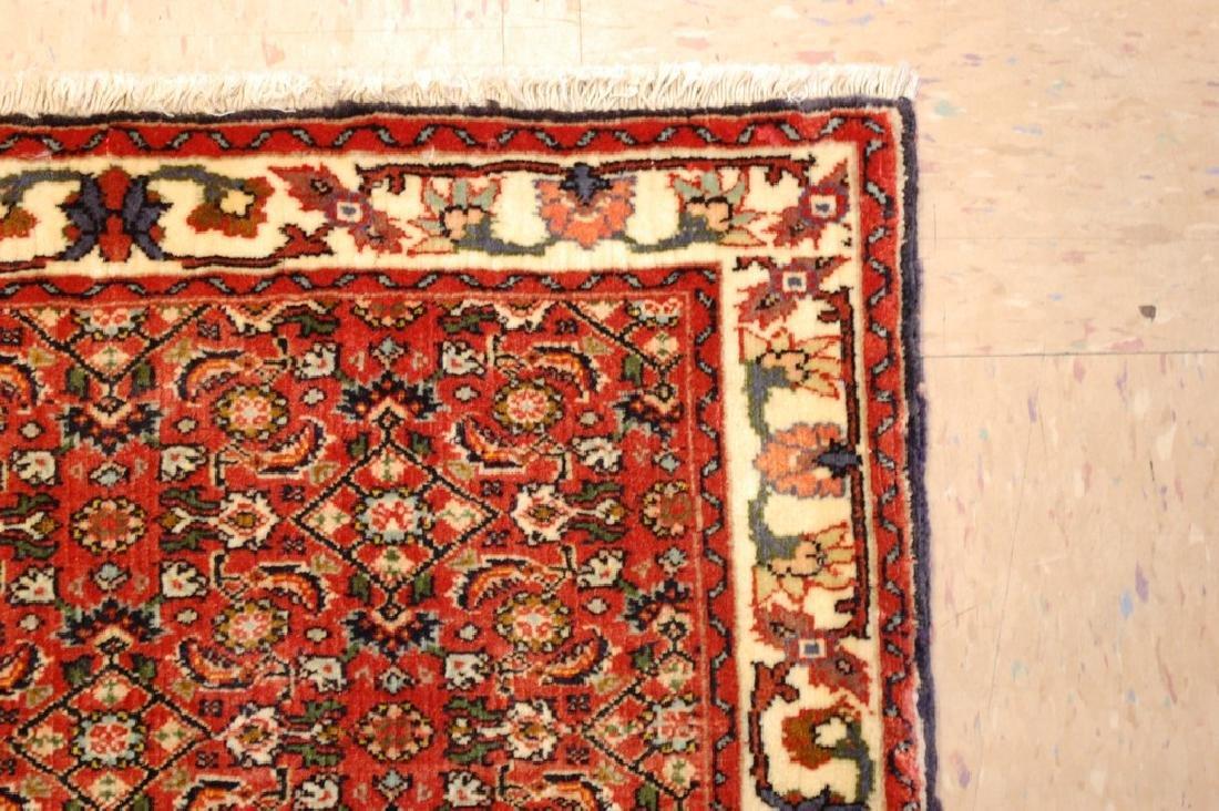 Kpsi Kork Wool Persian Bijar Rug 1.10x2.4 Village Woven - 5